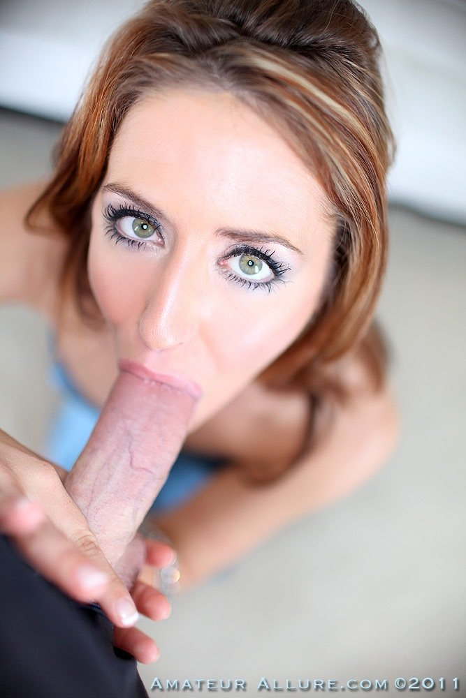 Not redhead beauty fucking swallowing right!